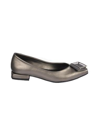 Mhd 125 Kadın Günlük Ayakkabı Gümüş